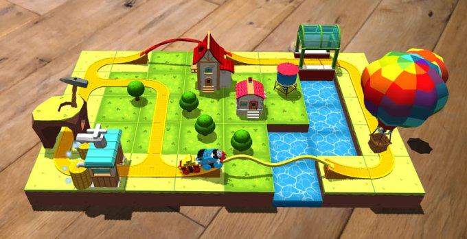 Thomas and Friends MINIS (aplikacja mobilna w rozszerzonej rzeczywistości)
