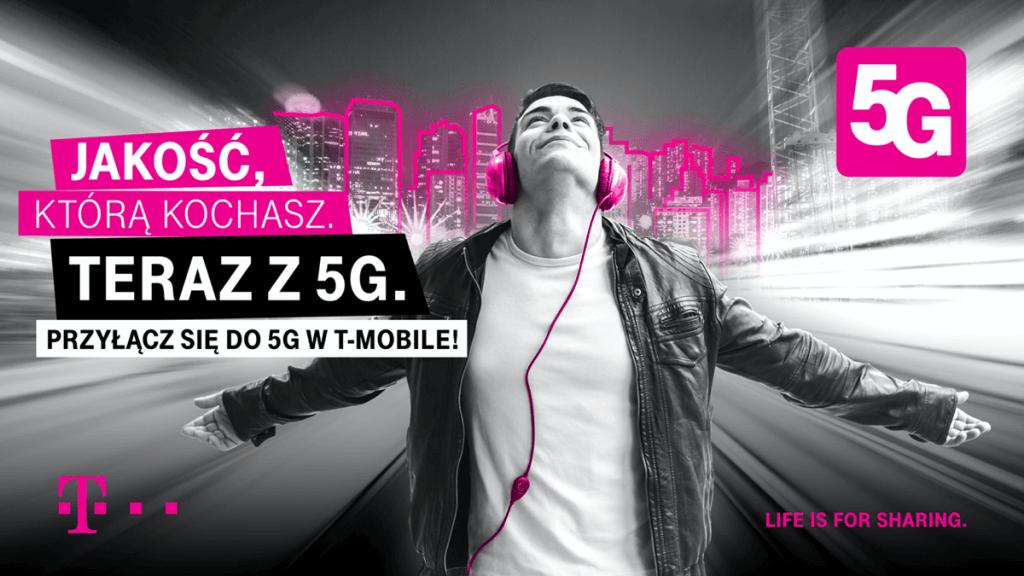 T-Mobile Polska uruchamia się 5G od 9 czerwca 2020 r.