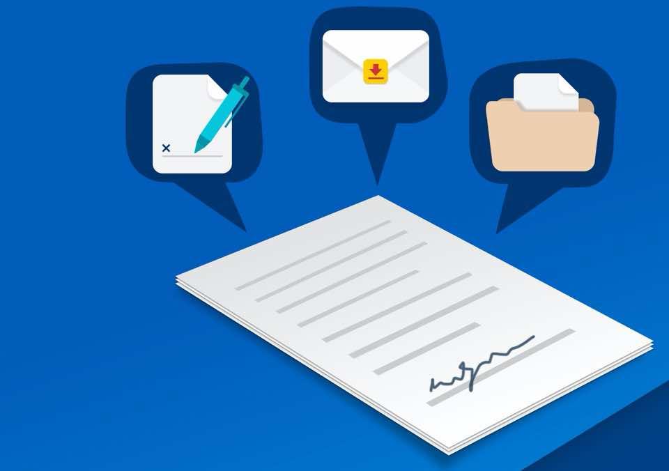 Aplikacja mobilna do podpisywania dokumentów elektronicznych: DocuSign - Upload & Sign Docs