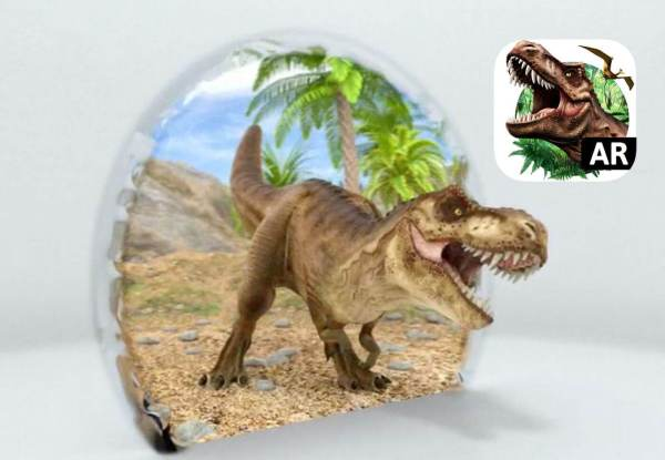 """Dinozaury wracają do życia dzięki AR i aplikacji """"Monster Park"""""""