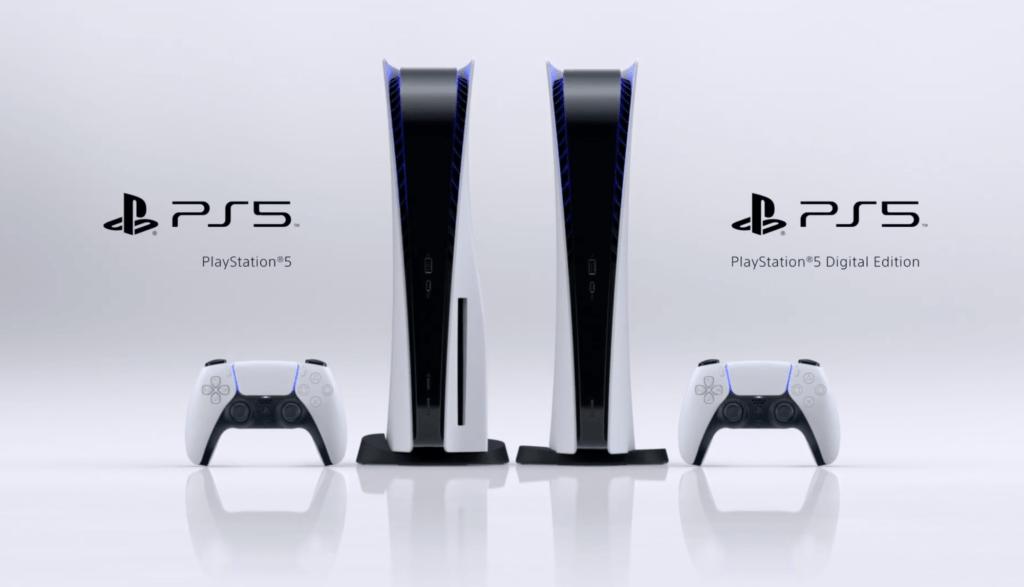 Konsola PS5 z napędem i w wersji Digital Edition + kontrole DualSense