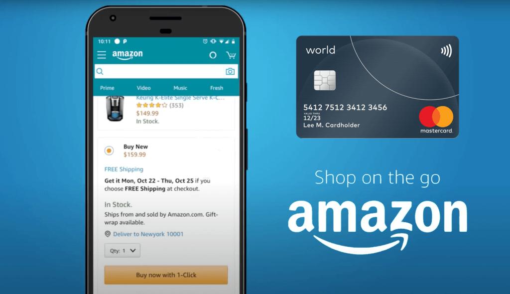 Tokenizacja kart Mastercard w serwisie Amazon