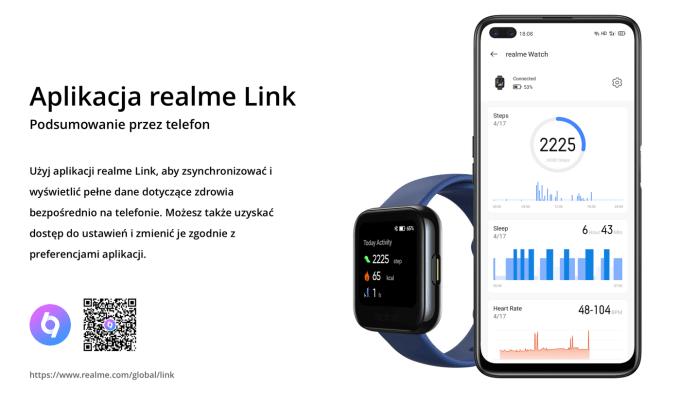 Aplikacja mobilna realme Link