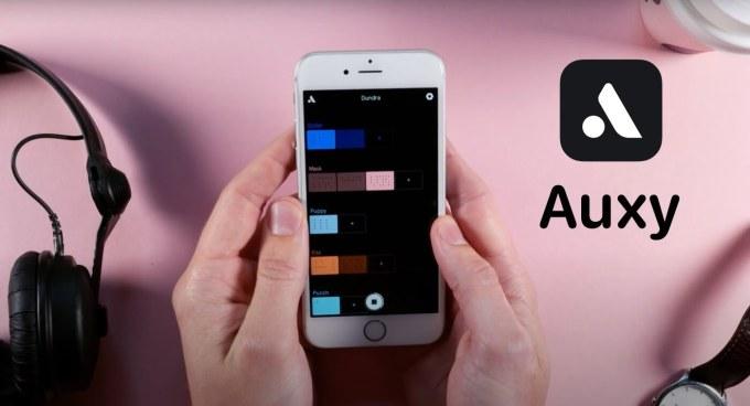 Auxy - aplikacja mobilna