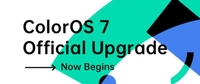 ColorOS 7 – Official Upgrade Plan - czerwiec, lipiec, sierpień 2020 r.