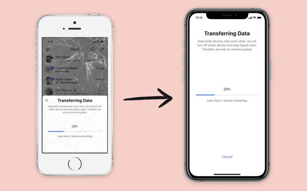 W Signalu możesz już przenosić historię czatów miedzy iPhone'ami