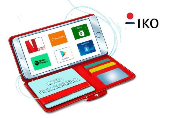 Karty podarunkowe kupisz teraz także w aplikacji IKO