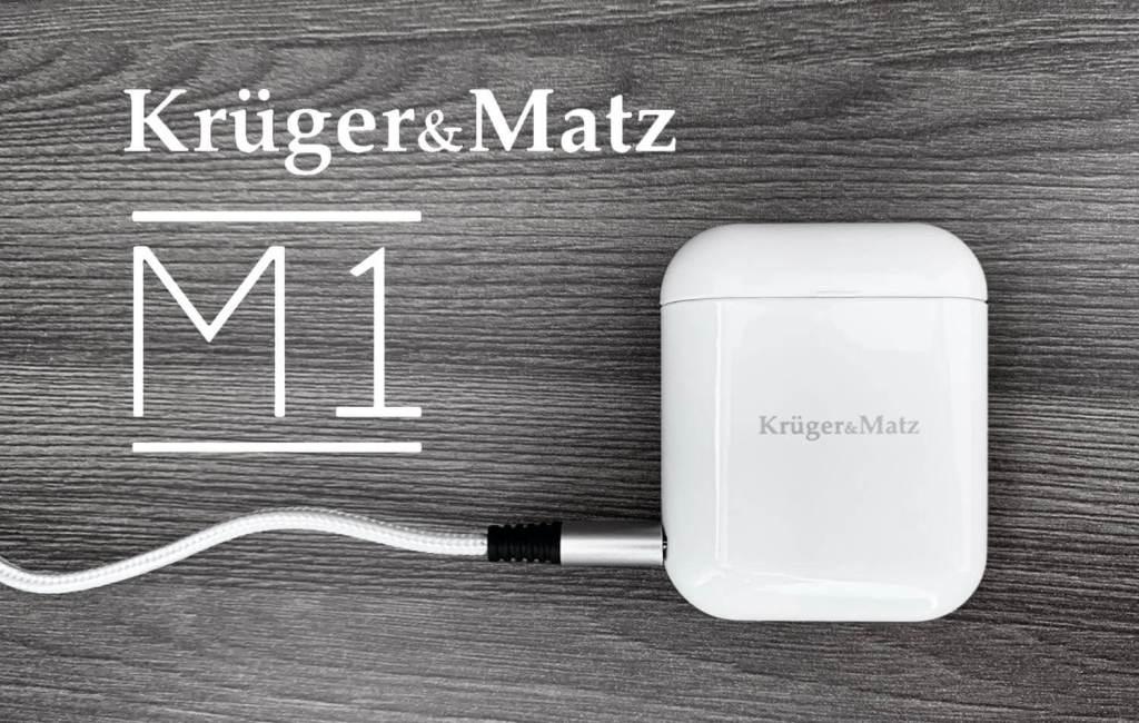 Słuchawki bezprzewodowe Krüger&Matz M1 (etui z logo)