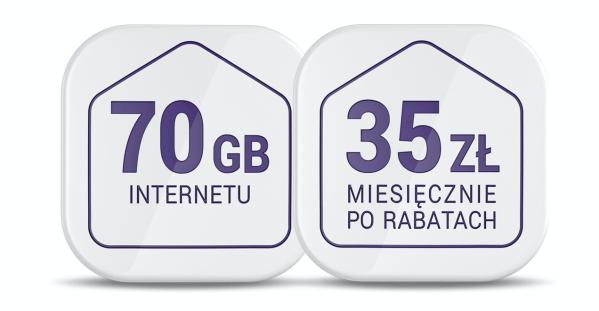 Internet 70 GB już od 35 zł w nowych ofertach Play