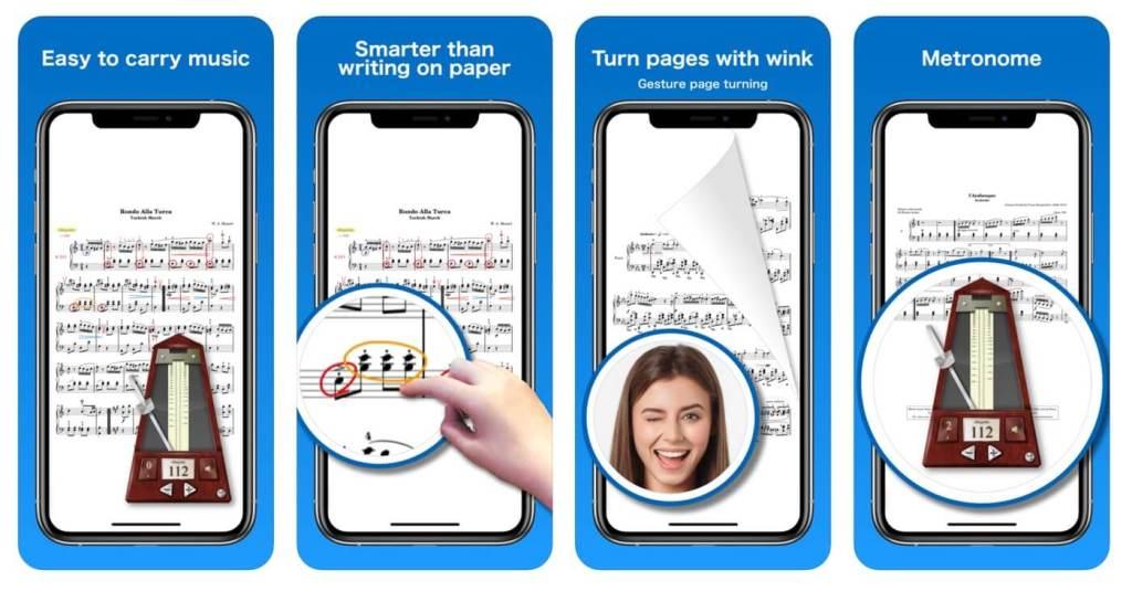 Zrzuty ekranu z aplikacji Piascore - Smart Music Score