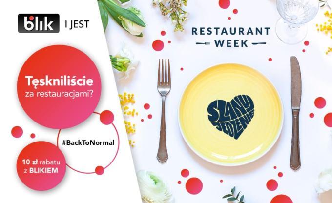 BLIK partnerem Restaurant Week – klienci otrzymają rabat przy rezerwacjach