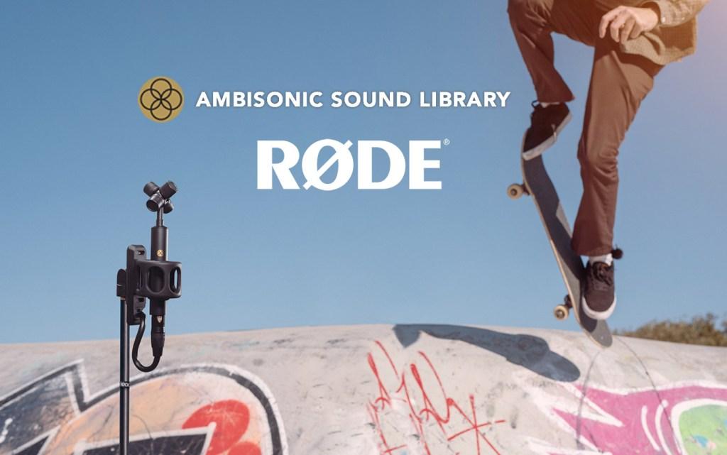 Bezpłatna biblioteka dźwięków przestrzennych od od RØDE: Ambisonic Sound Library