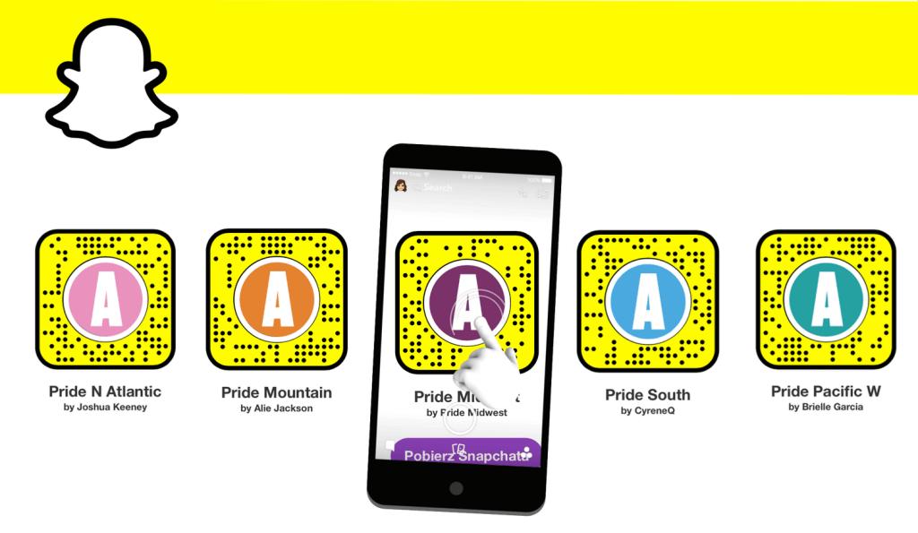 Soczewki Pride Month 2020 na Snapchata