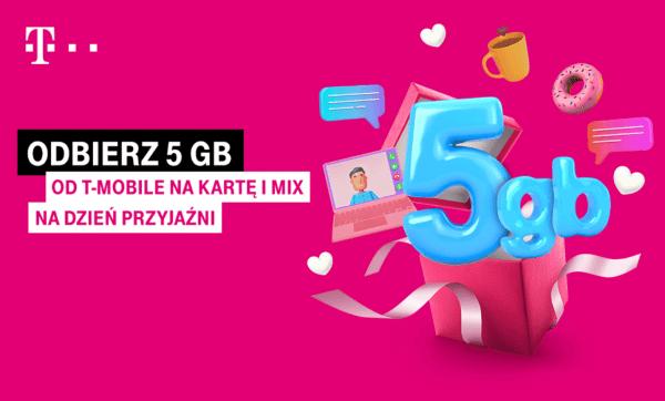 5 GB z okazji Dnia Przyjaźni w T-Mobile