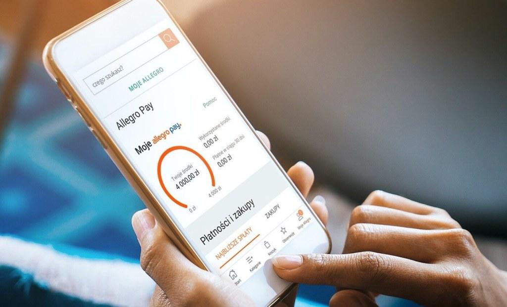 Allegro Pay w aplikacji Allegro