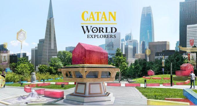 """Gra mobilna AR """"Catan - World Explorers"""""""