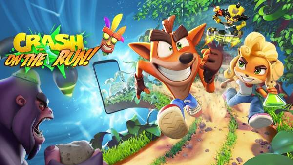 "Gra mobilna ""Crash Bandicoot: On the Run!"" już niebawem!"