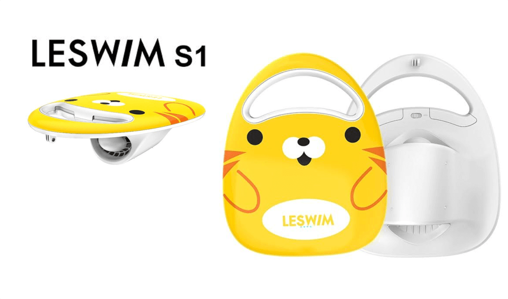 Deska do pływania z napędem elektrycznym LESWIM S1