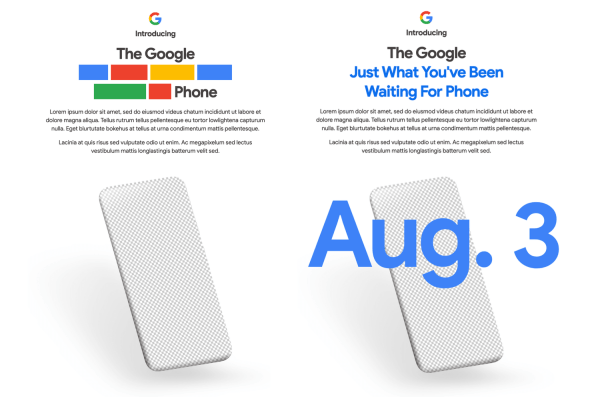 Google zapowiada premierę Pixela 4a na 3 sierpnia