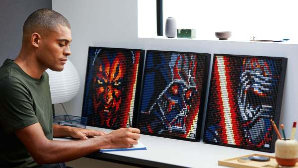 Plakaty pop-art z kolekcji LEGO Art już od sierpnia!