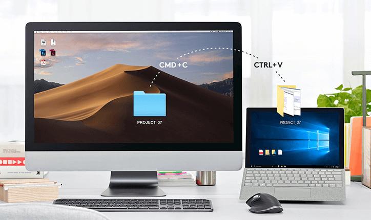 Mysz MX Anywhere 2S z technologią Logitech Flow™