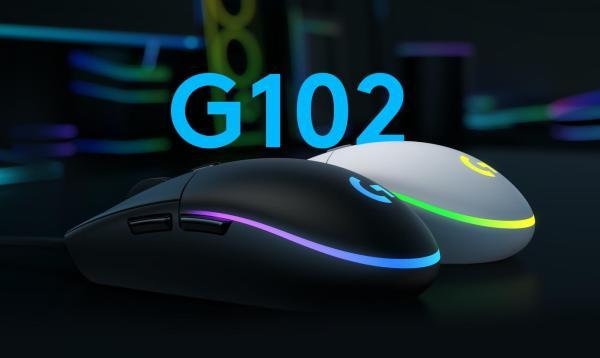 Nowa mysz Logitech G102 LIGHTSYNC Gaming Mouse dla graczy