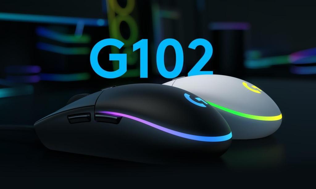 Mysz Logitech G102 LIGHTSYNC Gaming Mouse
