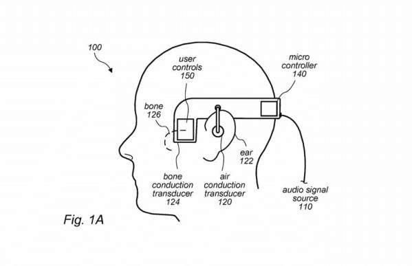 Przyszłe słuchawki Apple'a mogą wykorzystywać przewodzenie kostne