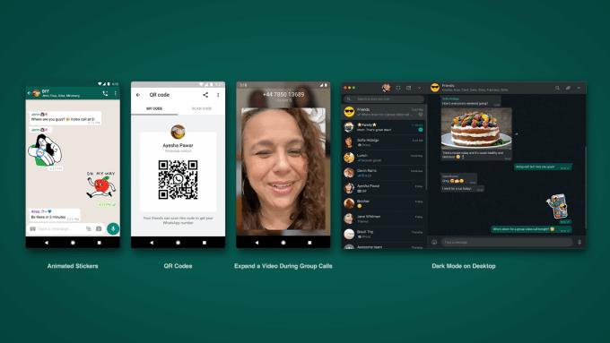 WhatsApp update (lipiec 2020)
