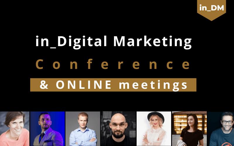 Konferencja in_Digital Marketing & Online meetings 2020