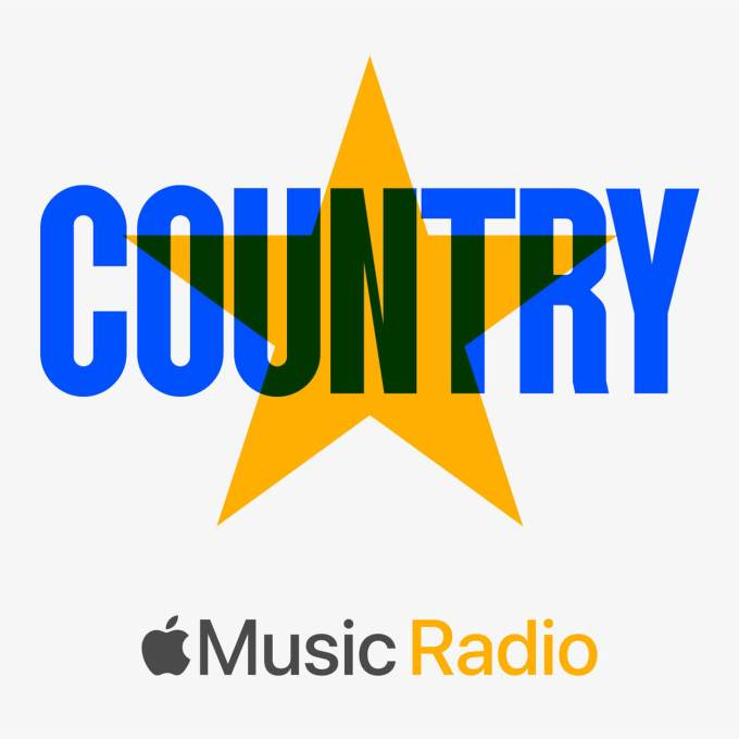 Logo Apple Music Radio Country