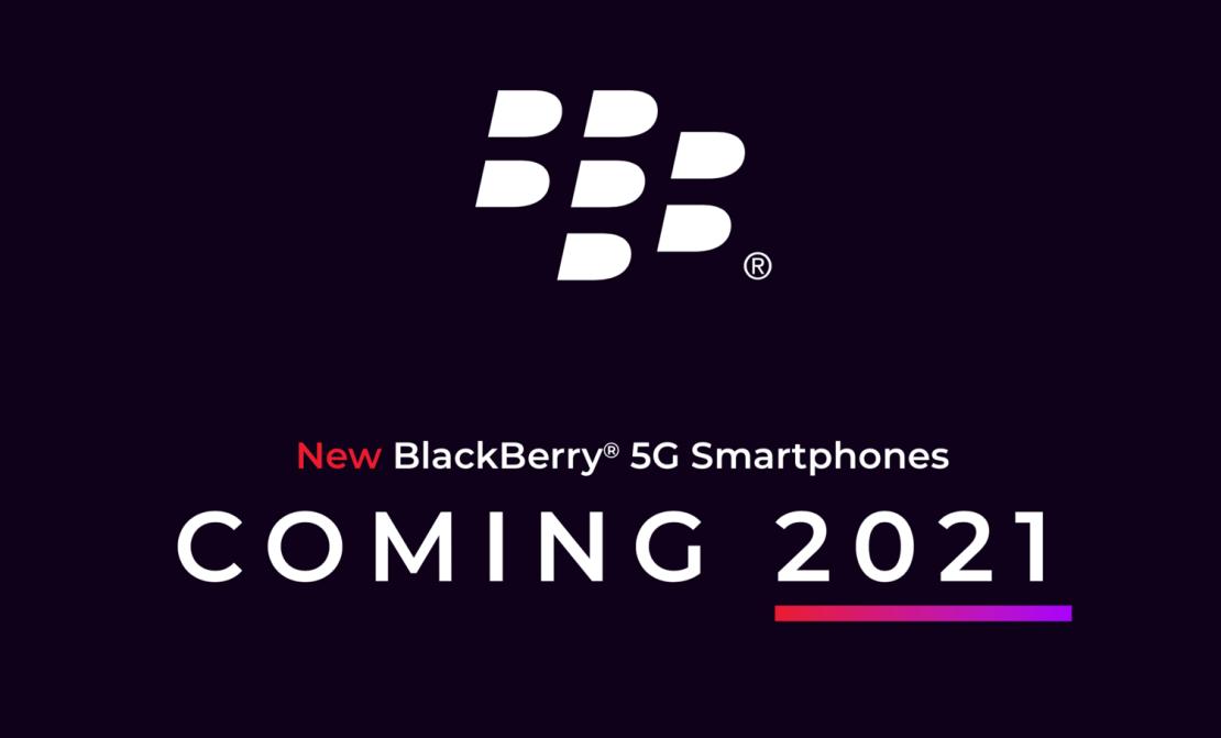 Smartfon Blackberry 5G z klawiaturą QWERTY pojawi się w 2021 roku