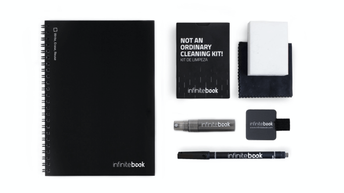 Notatnik wielokrotnego użytku InfiniteBook - starter KIT