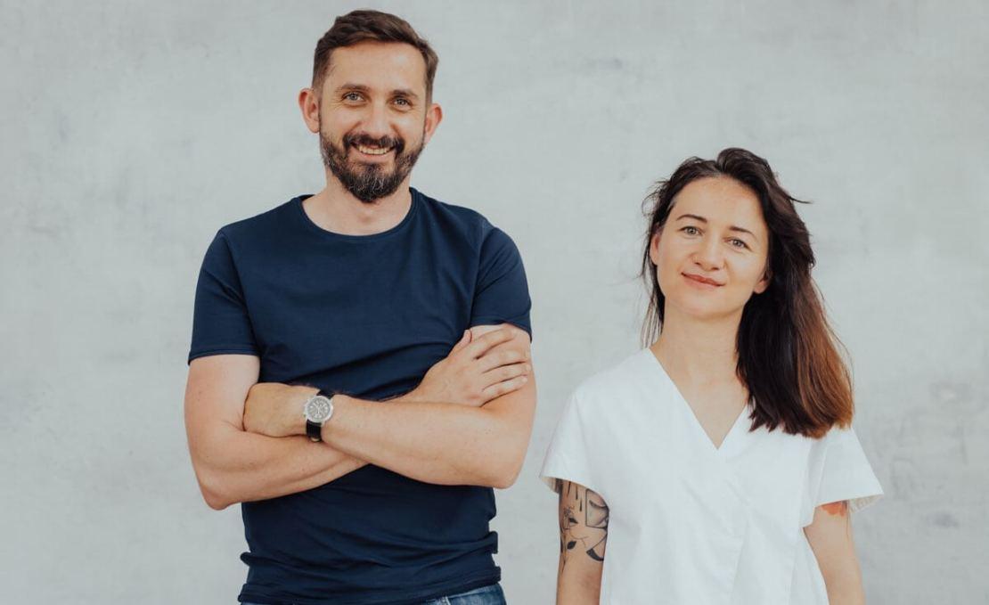 Rozmowy Facebooka - od lewej: Karol Stryja i Edyta Kowal