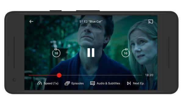 Netflix dodaje sterowanie prędkością na Androidzie