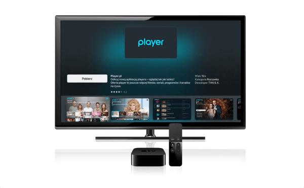 Aplikacja Player.pl dostępna także na Apple TV
