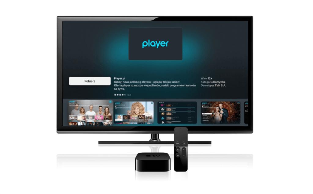 Aplikacja Player.pl na Apple TV (tvOS)