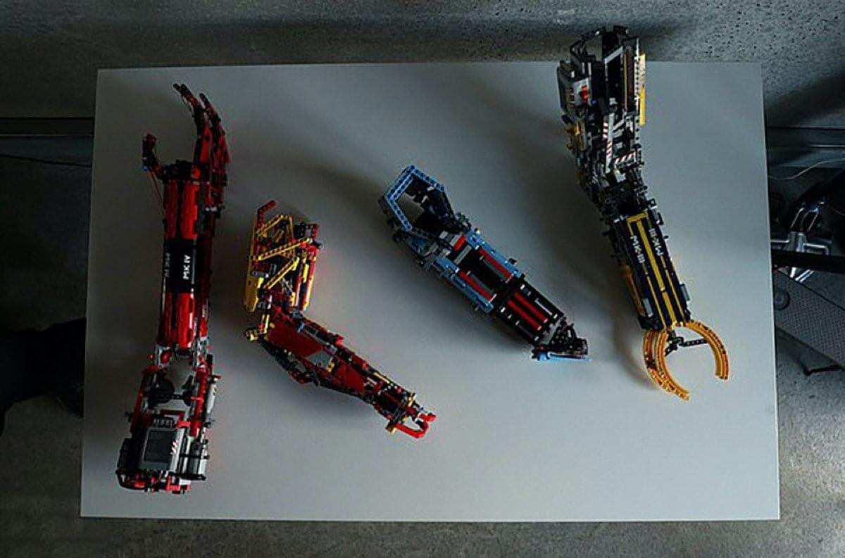 Protezy z klocków LEGO (MR. Hand Solo, David Aguilar)