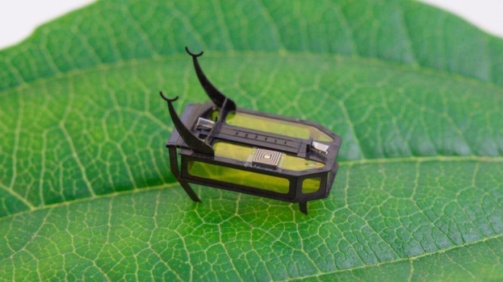 RoBeetle - robot-żuk zasilany ciekłym metanolem