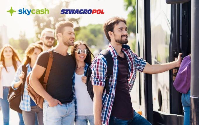 Bilety na przejazdy autobusowe w aplikacji ScyCash