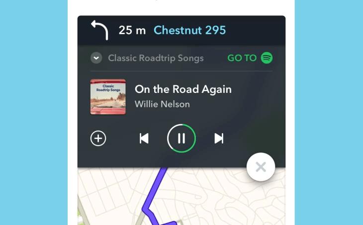 Współpraca Spotify i Waze