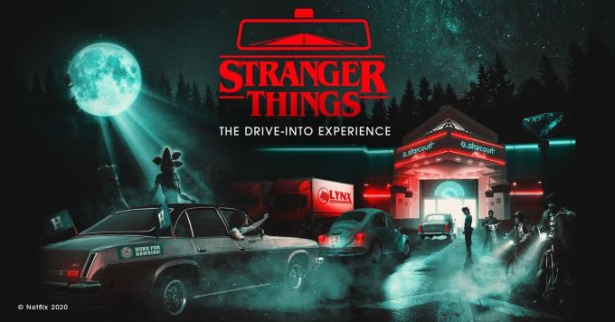 Stranger Thing: The Drive-Into Experience (Netflix, 2020)