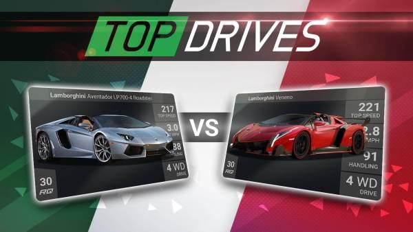 """W """"Top Drives"""" grasz autami, które rozdał los"""