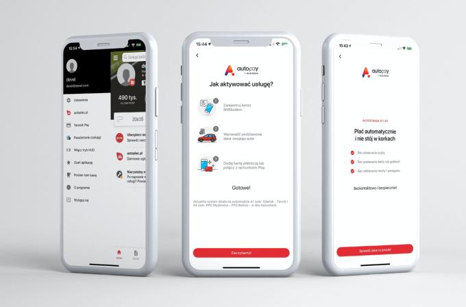 Płatności bezgotówkowe w aplikacji Yanosik