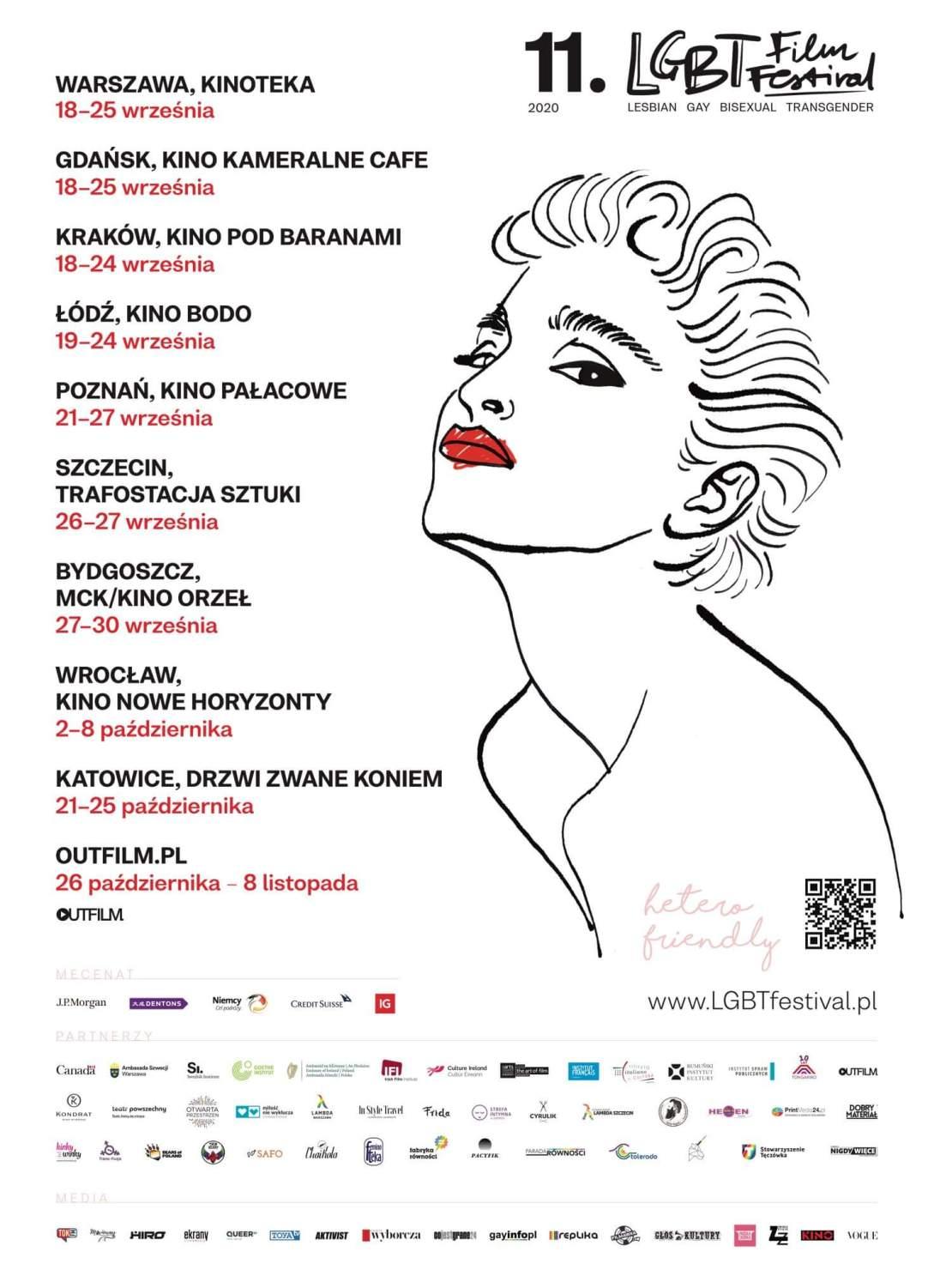 Plakat 11. LGBT Film Festival 2020