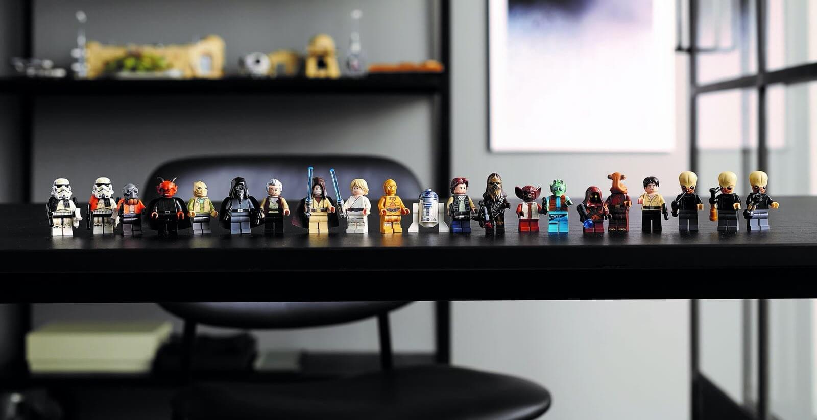 Kantyna Mos Eisley™ LEGO #75290 - wszystkie figurki z zestawu