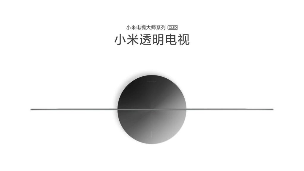 Mi TV LUX Transparent Edition - przezroczysty telewizor