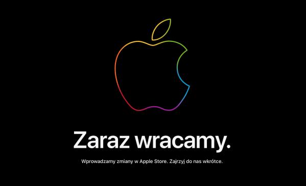 """Sklep internetowy Apple Store niedostępny przed """"Time flies"""""""