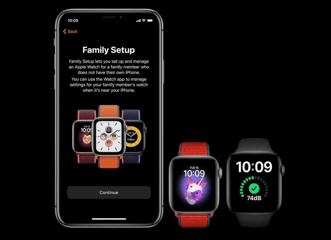 Family Setip - Apple Watch Series 6 i SE