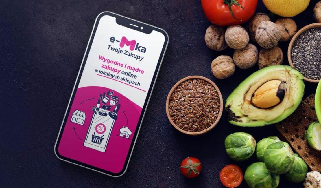 """Aplikacja mobilna """"e-Mka – Twoje zakupy"""""""